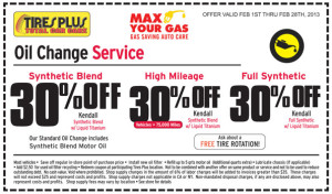 Tires Plus Oil Change Coupon Oil Change Coupons