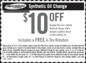 Like Goodyear coupons? Try these...